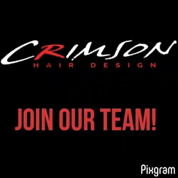 STYLISTS and Nail TechsCrimson is offering a great opportunity to advance your career. If you have been thinking about a change let's chat!  Maybe it's time for a new place to call home, or maybe it's time to take your career into your own hands and