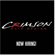 STYLISTS, NAIL TECHS, RMT, ESTHETICIANS. Crimson is offering a great opportunity to advance your career.  We currently have one chair and one room available.  If you have been thinking about a change let's chat!  We are a Redken concept salon located on