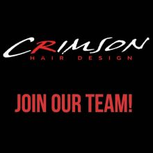 STYLISTS Crimson is offering a great opportunity to advance your career.  If you have been thinking about a change let's chat!  We are located on Albert St. South.  Great location with tons of exposure and tons of free parking.  We offer education and