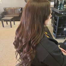 Full head GBB tape-in extensions.  This beauty wanted long hair, and that's what she got! . . . . . #crimsonhairdesign #hair #extensions #yqrstylist #regina #salon #rapunzel