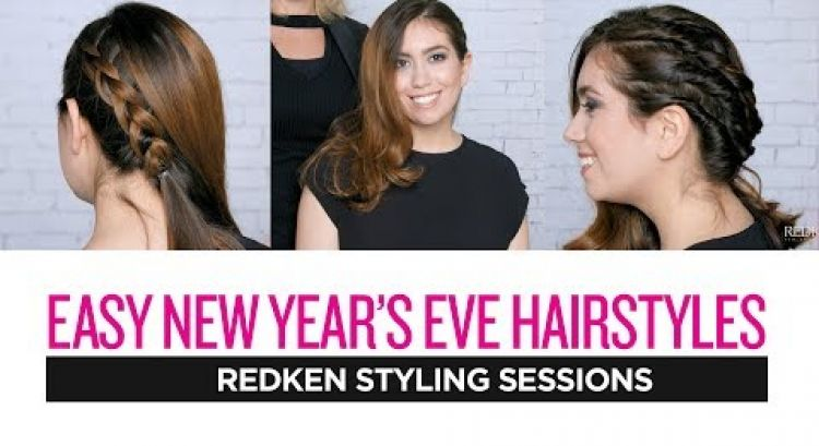 Redken Styling Sessions: Easy New Year's Eve Hairstyles