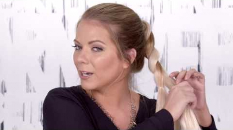 Summer Hairstyle Tutorial: Braided Ponytail