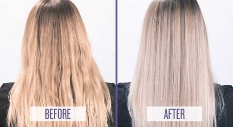 Meet Color Extend Blondage Purple Shampoo and Conditioner for Blondes