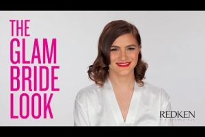 Short Wedding Hair for the Glam Bride | Redken Bridal Hairstyles