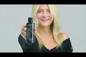 Discover the secret to second-day style with Redken's Dry Shampoo powder!